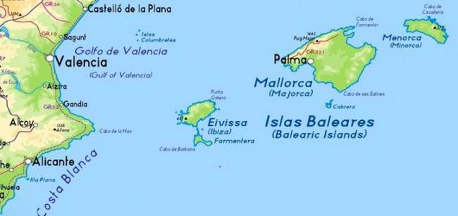 Cartina Spagna E Isole Canarie.Focus Canarie E Baleari Advtraining It